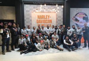 Ladies of Harley Malaysia visit Harley Melaka