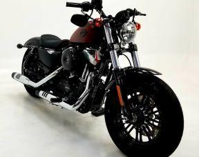 2018 Harley Davidson Forty-Eight Red Iron Denim
