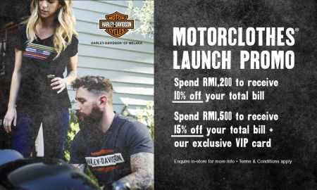 MotorClothes launch promo