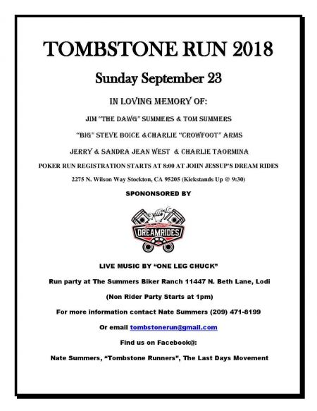 Tombstone Run 2018