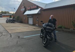Todd and his new 2018 FLRTXS!