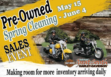 Pre-Owned Spring Cleaning Sales Event