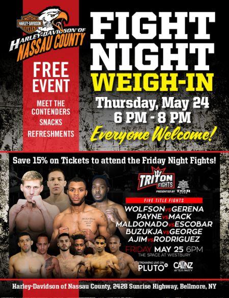MMA Fight Night Weigh-In