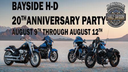 Bayside Harley-Davidson 20th Anniversary, Portsmouth Virginia.