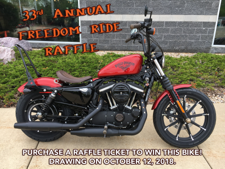 33rd Annual Freedom Ride Raffle