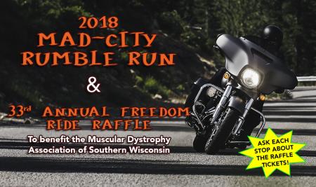 Freedom Ride Raffle & Rumble Run Drawings