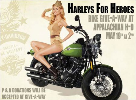 Harleys for Heroes