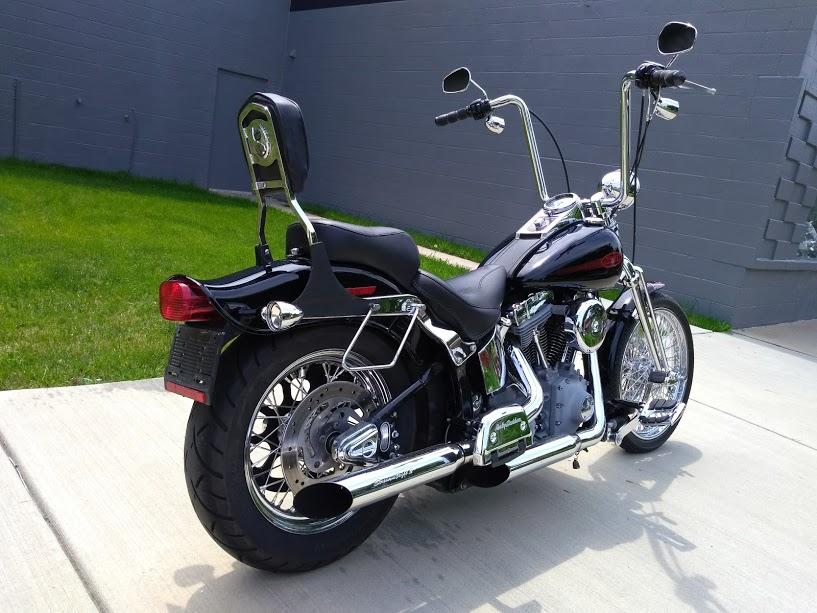 FX Softail with Springer Front End | District Harley-Davidson®