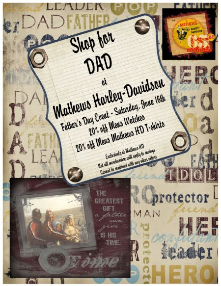 Father's Day Event @ Mathews H-D