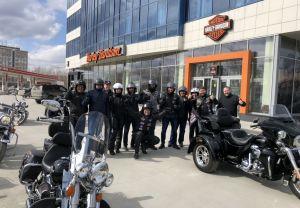 День рождения клуба Harley-Davidson Новосибирск