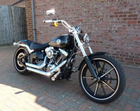 2016 FXSB Softail Breakout 2016 Full Stage One 300 miles!