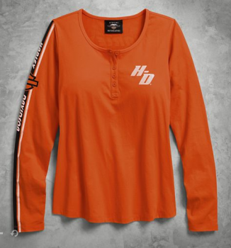 Henley GMIC long sleeve T-shirt