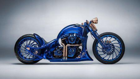 Bucherer and Harley-Davidson unveil world's most expensive motorbike