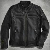 Harley-Davidson® Men's Telescope Thrash Leather Jacket