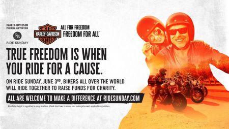 Ride sunday with Tusker Harley-Davidson