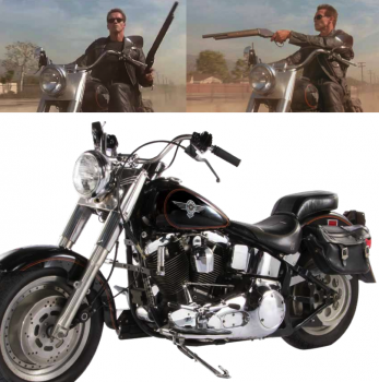 Interested in owning your very own piece of SYFY & Harley-Davidson gold?