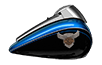 115th Anniversary Tri Glide<sup>®</sup> Ultra - Legend Blue / Vivid Black