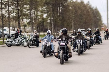 Открытие мотосезона Harley-Davidson Красноярск 2018