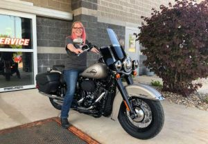 Jennifer - Heritage Softail® -- 5/20/18