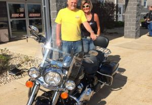 George & Karen - '18 Road King -- 5/5/18