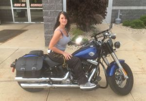 Ashley - '15 Softail Slim® -- 5/20/18