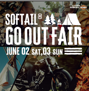 SOFTAIL GO OUT FAIR のお知らせ