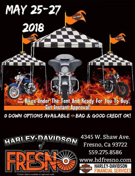 Memorial Weekend Tent Event
