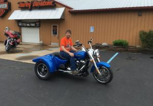 Richard and his new FLRT Freewheeler!
