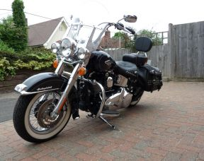 Preowned 2014 Harley-Davidson Heritage Softail Full Stage One