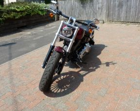 Preowned 2017 Harley-Davidson Breakout in Red