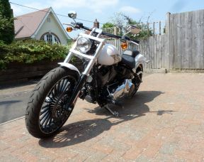 Preowned 2017 Harley-Davidson Breakout in White