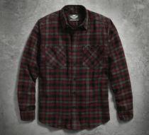 Genuine Harley-Davidson Mens Plaid Flannel Shirt