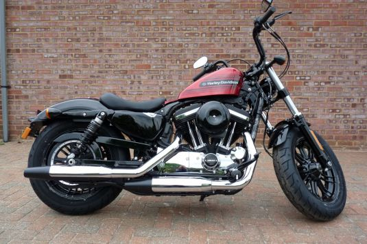 NEW Unregistered 2018 Harley-Davidson Forty-Eight Special in Wicked Red