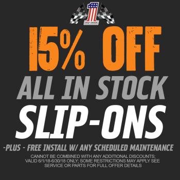 15% off Slip Ons