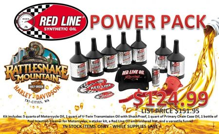 Red Line Power Pack!