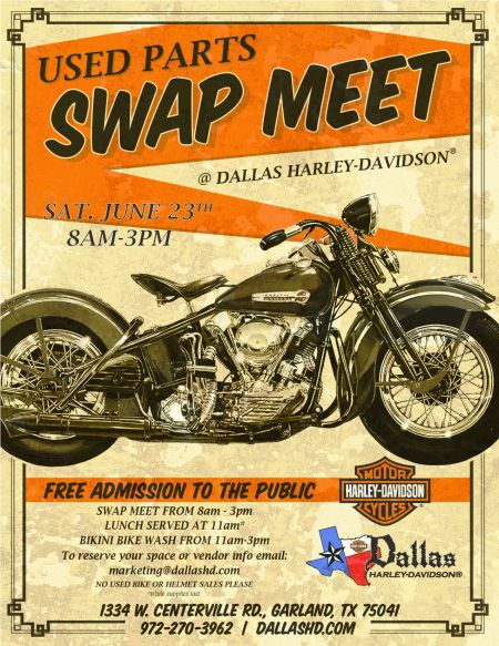 Summer Kick-off & Swap Meet