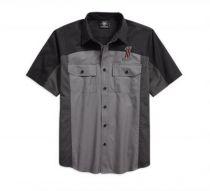 Košulja, kr.rukav Colorblock
