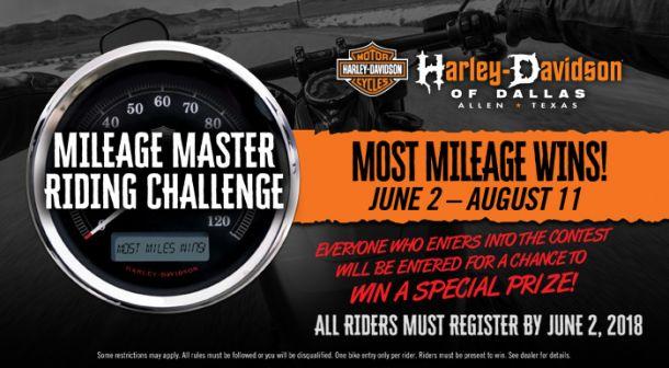 Mileage Master Contest