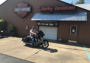 Jim and his new FLHX Street Glide!
