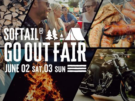 今週末は【SOFTAIL GO OUT FAIR】です!!