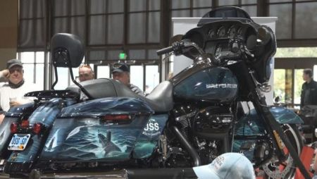 Special Edition Harley-Davidson motorcycle revealed with a connection to USS South Dakota submarine
