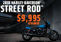 ALL-NEW STREET ROD™ FROM $9,995 RIDE AWAY!