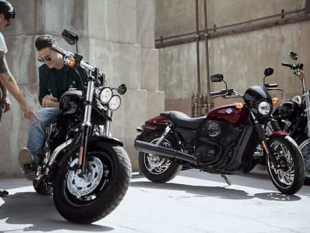 Harley-Davidson® Touring Customization Packages