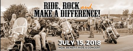 4th Annual MDA Benefit Ride & Concert