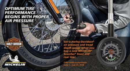 Optimum tire performance begins with proper air pressure
