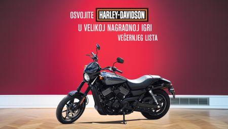 Osvojite Harley-Davidson u nagradnoj igri Večernjeg lista!