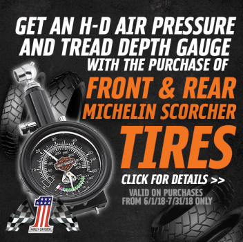 Michelin® Scorcher® Tire Promo