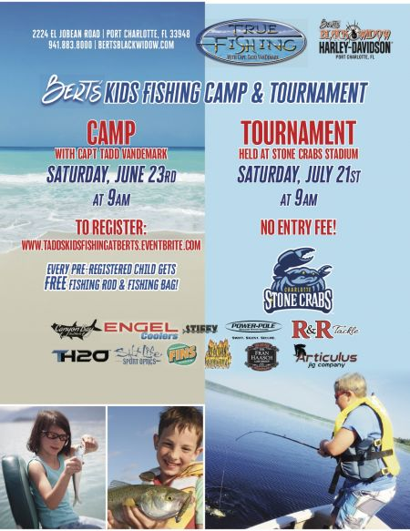 Bert's Kids Fishing Tournament