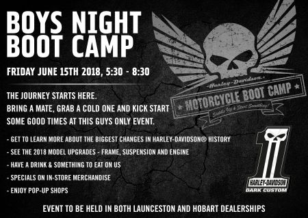 Launceston Boys Night & Boot Camp