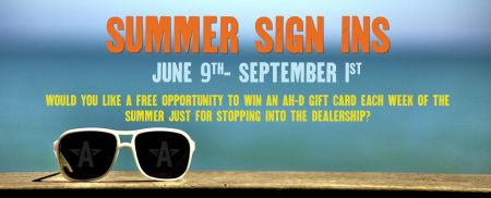 Summer Sign Ins